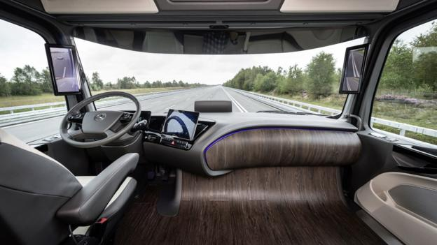 Future Semi Trucks Interior