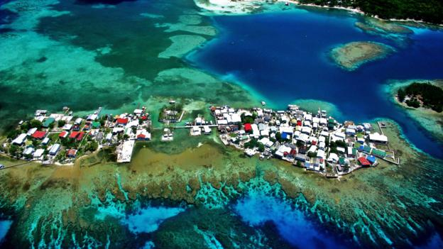 Colourful island of Utila (Credit: Brad Ryon)