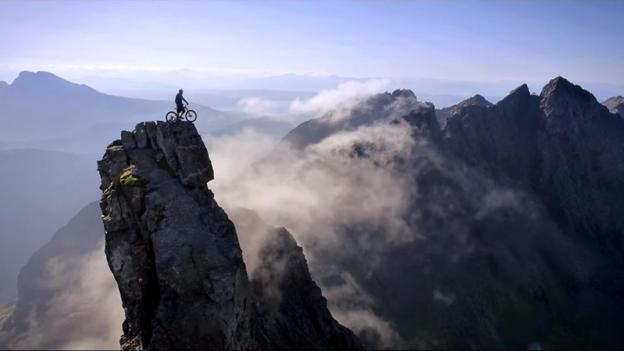 BBC - Travel - A death-defying ride along Scotland's Cuillin Range