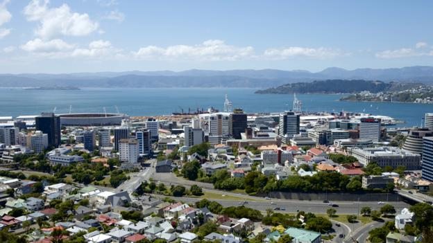 Wellington, New Zealand, harbour (Credit: Oliver Strewe/Getty)