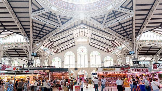 Valencia's Mercado Central (Credit: Getty)