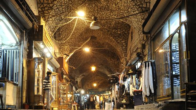 The Al-Madina Souq in the heart of Aleppo (Getty) (Credit: Getty)