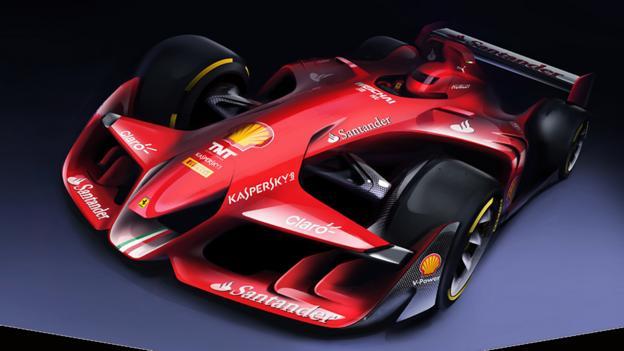 BBC - Autos - Ferrari's F1 car of the future