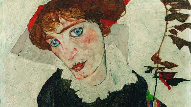 Egon Schiele, 1912. Portrait of Wally Neuzil