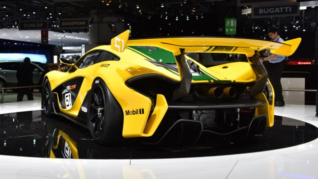 view image of mclaren p1 gtr credit credit newspress. Black Bedroom Furniture Sets. Home Design Ideas