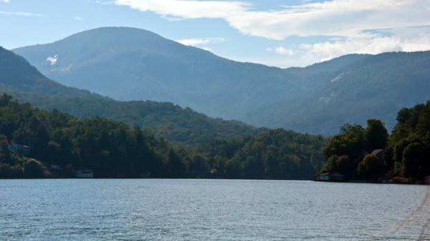 Lake Lure,Dirty Dancing, The Last of the Mohicans (Credit: Credit: Amanda Ruggeri)