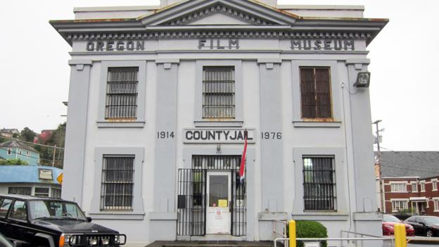 Former county jail where the opening scene was shot (Credit: Credit: David G Allan)