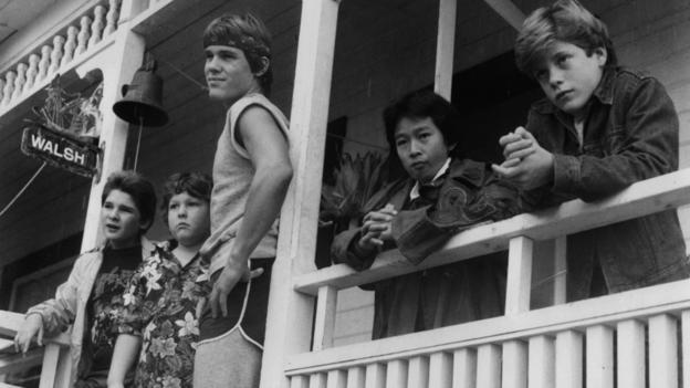 Scene from The Goonies at the Goondocks house (Credit: Warner Brothers/Getty)