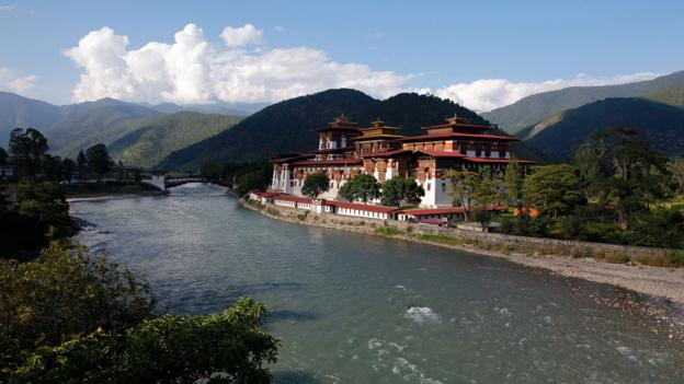 Punakha, dzong, Punakha Dzong, Bhutan, Asia (Credit: Credit: Ed Jones/AFP/Getty)