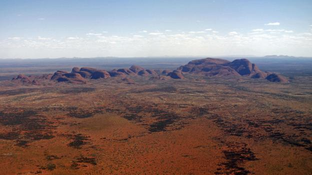 The 36 granite and basalt conglomerate domes of Kata Tjuta (Credit: Credit: Torseten Blackwood/AFP/Getty Images)