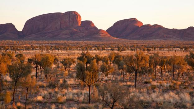 Kata Tjuta at sunrise (Credit: Credit: Steve Swayne)