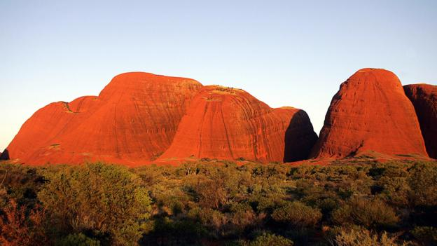 The domes of Kata Tjuta rise 500 metres (Credit: Credit: Torseten Blackwood/AFP/Getty Images)