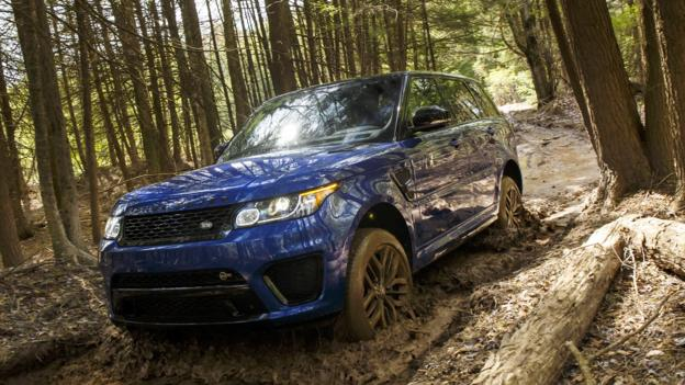 BBC - Autos - Range Rover Sport SVR: Driving Land Rover's ...