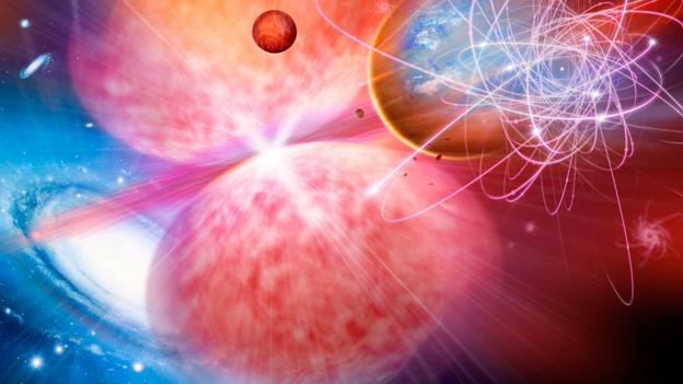 Phantom dark energy could destroy everything (Credit: Detlev van Ravenswaay/SPL)