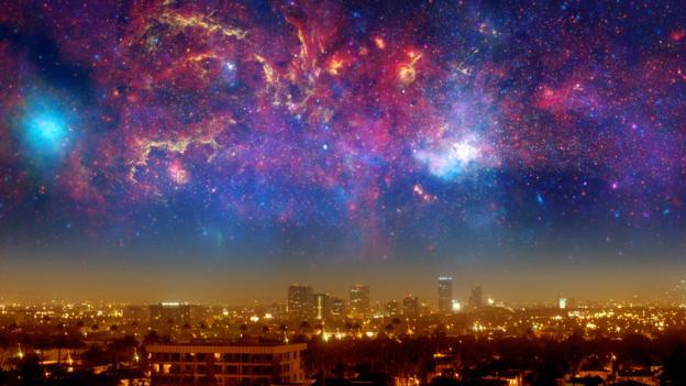 The Big Rip would begin by tearing galaxies apart (Credit: Detlev van Ravenswaay/SPL)