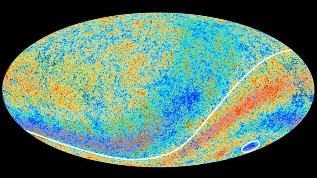 The cosmic microwave background (Credit: ESA Planck Collaboration/SPL)