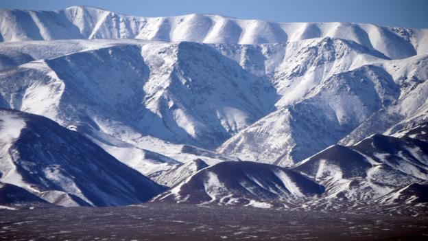 Mountains in northern Mongolia (Credit: Credit: Stephen Fabes)