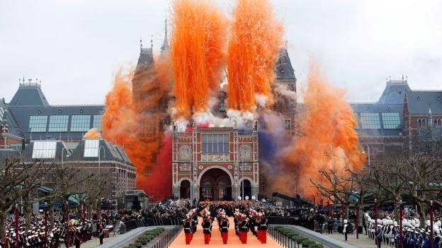 Amsterdam's Rijksmuseum (Credit: Credit: Dean Mouhtaropoulos/Getty)