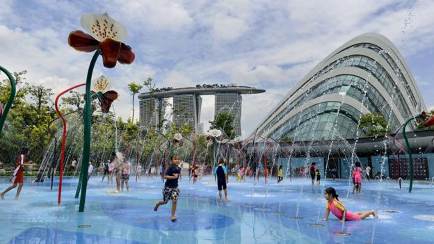 Singapore's Garden by the Bay (Credit: Credit: Roslan Rahman/Getty)
