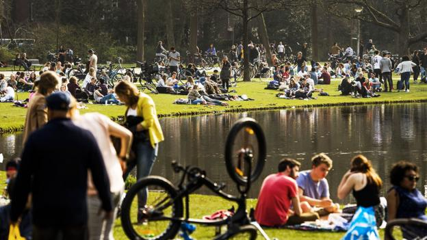 A sunny afternoon in Amsterdam's Vondelpark (Credit: Credit: Remko De Waal/Getty)