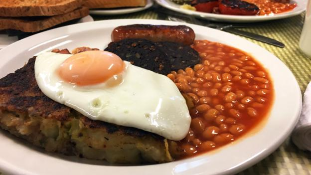 The Regency Cafe's English breakfast (Credit: Credit: David Farley)