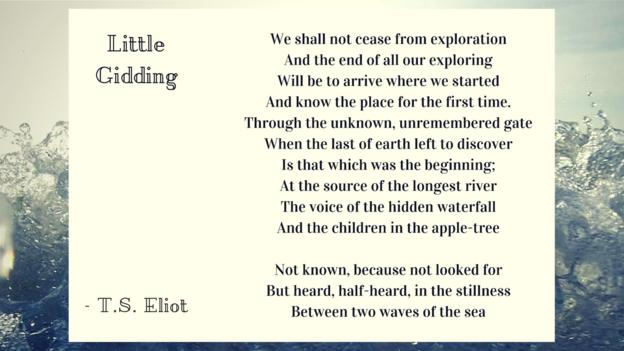 p02v361g - Your 10 favourite TS Eliot lines - Lifestyle, Culture and Arts