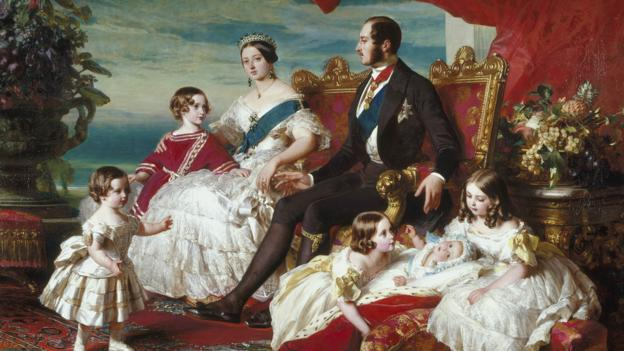 Franz Winterhalter's The Royal Family in 1846 (Credit: Alamy)