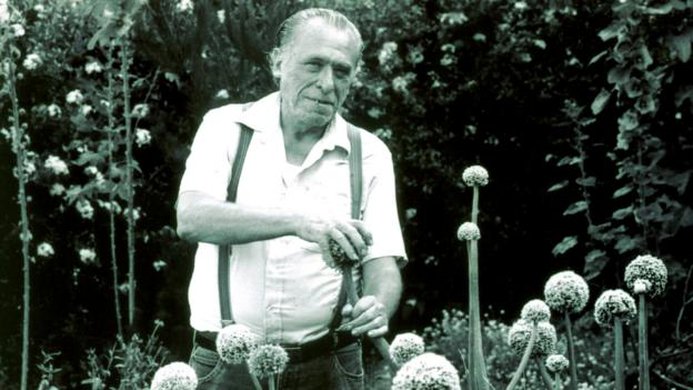 Authors like Hubert Selby Jr or Charles Bukowski?