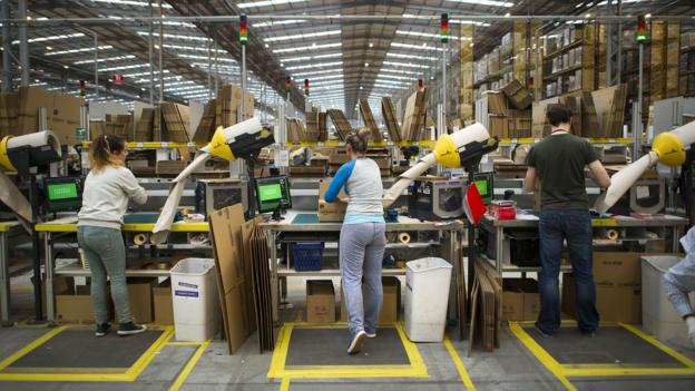 BBC Future How Algorithms Run Amazons Warehouses