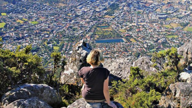 Soaking up the views in Cape Town, South Africa (Credit: Credit: Sabrina Iovino)
