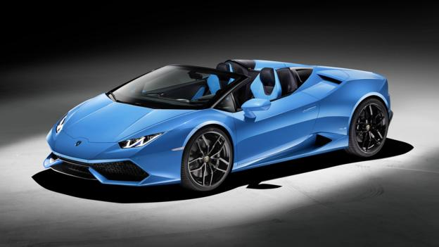 bbc autos lamborghini builds a breezier hurac n. Black Bedroom Furniture Sets. Home Design Ideas