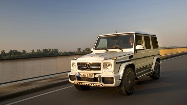 BBC - Autos - First drive: Mercedes-AMG's 563hp G63 '463 Edition'