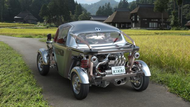 Bbc Autos Toyota Kikai Is A Mechanical Curio In A