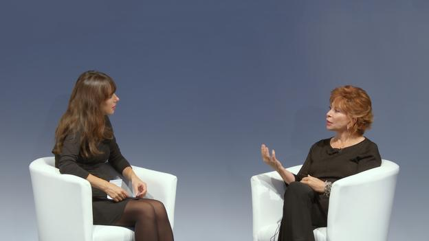 BBC - Culture - Isabel Allende: 'I could never make love in English'