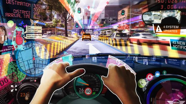 Augmented reality could bring the Web to your windscreen