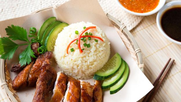 Hainanese chicken rice is one of Singapore's national dishes (Credit ...
