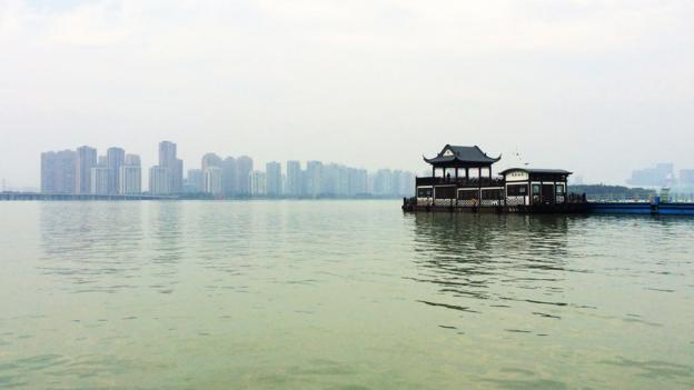 The water around Suzhou offers space and tranquility (Credit: Credit: Eva Rammeloo)