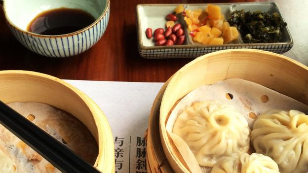 Traditional soup dumplings, called xiaolongbao, are a Suzhou favourite (Credit: Credit: Eva Rammeloo)