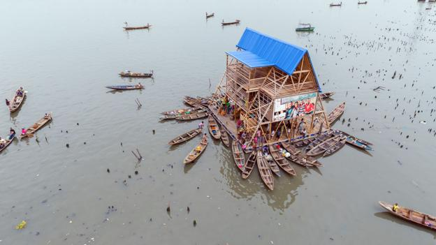 Makoko (Credit: Credit: NLÉ, Iwan Baan)