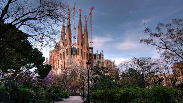 The Gothic masterpiece is still under construction in Barcelona (Credit: Credit: Gustavo's Photos/Getty)