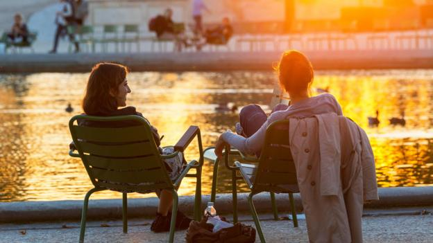Sunset at the Jardin du Luxembourg (Credit: Credit: Sonnet Sylvain/hemis.fr/Alamy)