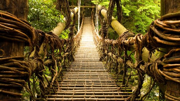 BBC - Travel - Could you cross this ancient bridge of vines?