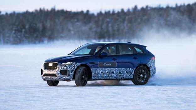 BBC - Autos - First drive: Jaguar F-Pace