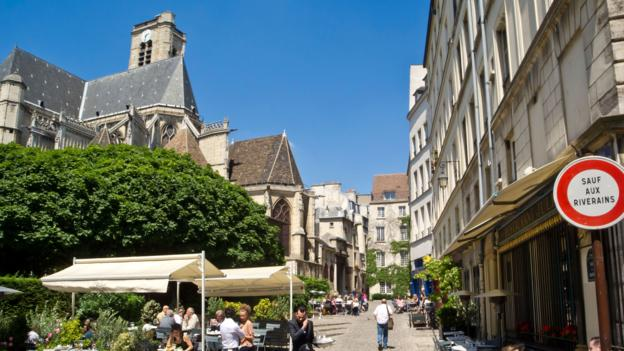 Marais, a jumble of streets and houses that is now a major draw for tourists (Credit: Credit: Alamy)