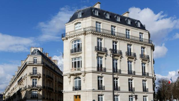 Haussmann's big vision lives on in the typical building facades seen all over Paris (Credit: Credit: Hemis / Alamy Stock Photo)