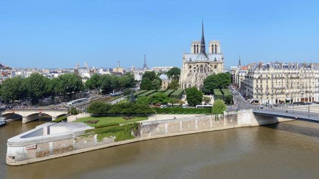 The Île de la Cité (Credit: Credit: Alamy)