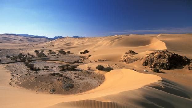The Sahara desert in Niger gets a lot of sun (Credit: Frans Lemmens/Alamy Stock Photo)