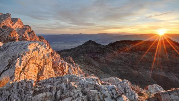 Death Valley is famous for its roasting heat (Credit: RooM the Agency/Alamy Stock Photo)