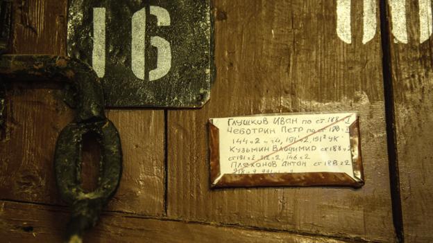 Prisoners were locked up tightly behind heavy doors (Credit: Credit: Alexander Aksakov/Getty)