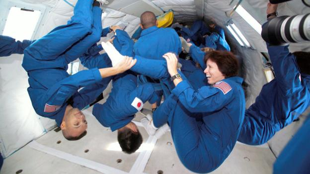 Living in zero gravity affects your body (Credit: NASA/Science Photo Library)